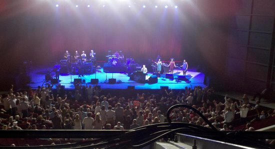 Birmingham-Jefferson Convention Complex: View from Tier AA, seat 514= Steely Dan July 27 2014