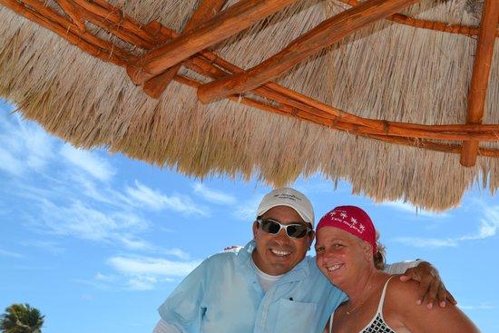 Omni Cancun Resort & Villas: Excellent server Ulysses