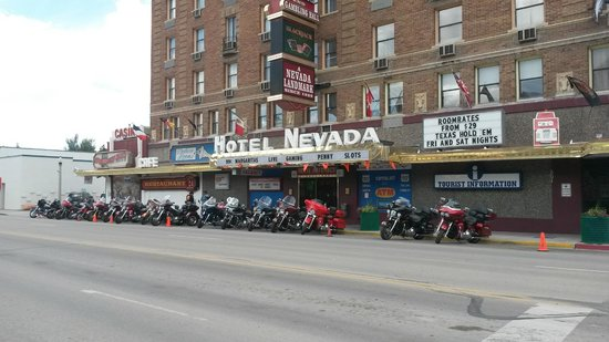 Hotel Nevada : View from outside hotel
