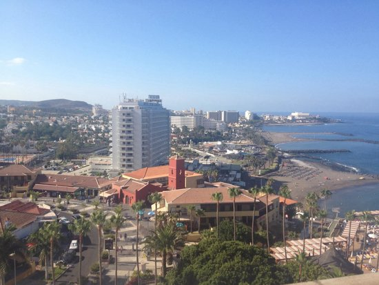 Iberostar Bouganville Playa : View from our balcony which we didn't have to pay extra for :)