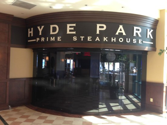 Hyde Park Prime Steakhouse Interior Entrance