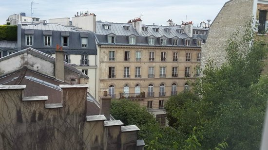 Citadines Saint-Germain-des-Pres Paris: View from the room