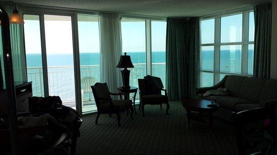 Sandy Beach Resort : Perfect views! (sandy beach side view room)