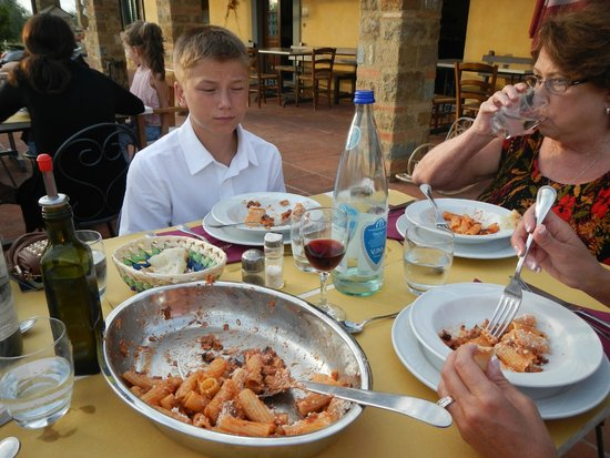 Agriturismo Savernano: Awesome food and a lot of it