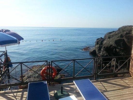 Hotel Nettuno: Dalla terrazza