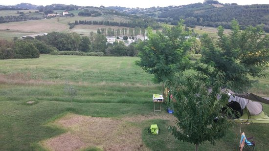Perugia Farmhouse B&B: The view from my room