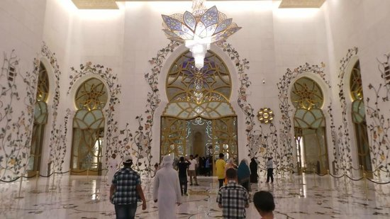 Mezquita Sheikh Zayed: 14