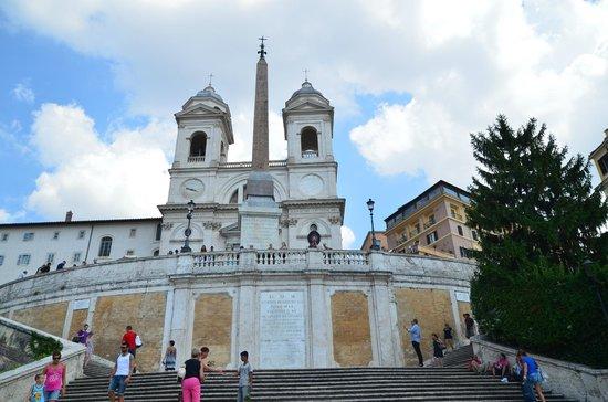 Place d'Espagne (Piazza di Spagna) : Spanish Steps (Piazza di Spagna)