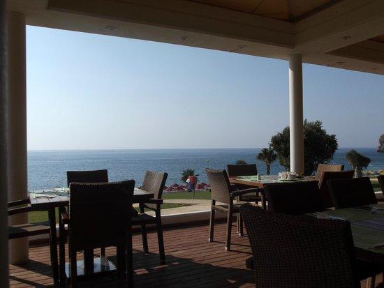 Kolymbia Beach Hotel : terrazza ristorante
