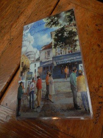 AU CLAIRON DES CHASSEURS - Carte