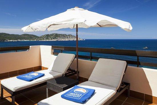 Invisa Hotel Club Cala Verde : Terraza