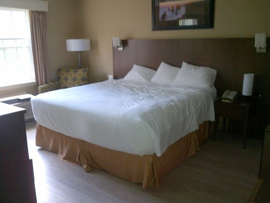Super 8 Charlottetown PE: king size bed