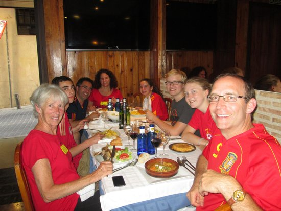Restaurante Puerto Rico : Lunch with the family