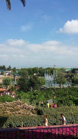 PortAventura Park: Vue depuis le Furious Baco