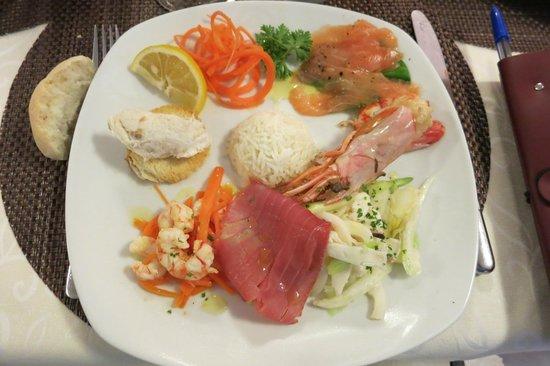 All'Orologio: Fisch und Meeresfrüchteplatte