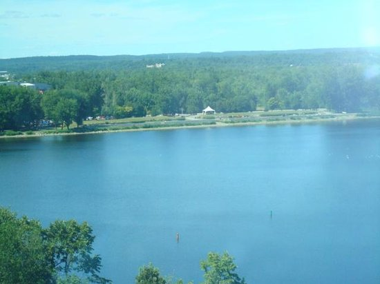 Hilton Lac-Leamy : View from our Hotel room