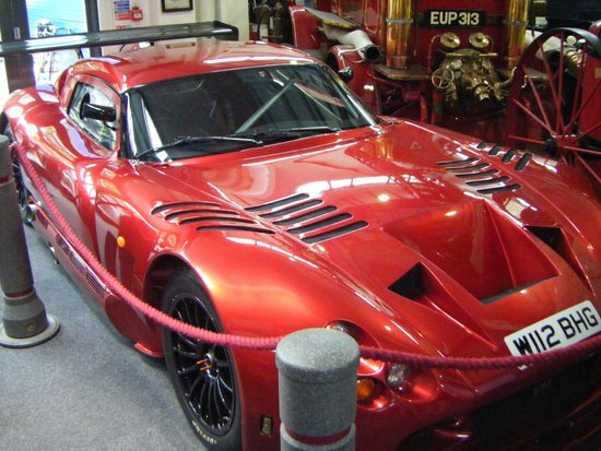 Lakeland Motor Museum: TVR....with attitude !