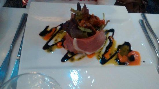 315 Bar & Restaurant: Salad of Parma ham and sun dried tomatoes