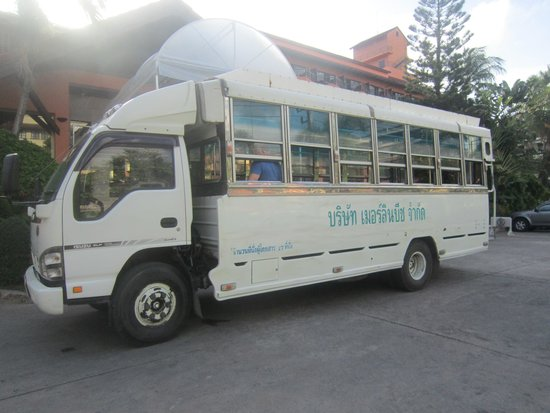 Phuket Marriott Resort & Spa, Merlin Beach: merlin beach bus