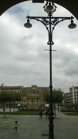Plaza del Castillo. Pamplona.