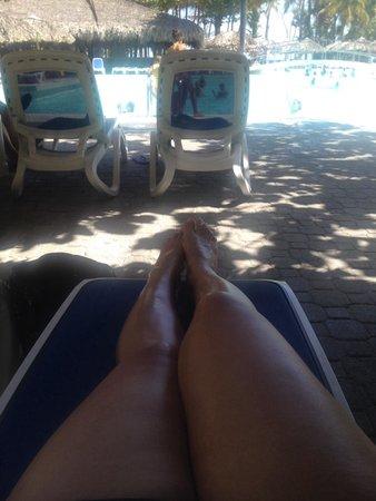 ClubHotel Riu Merengue: Vista a la piscina