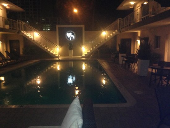 The Grand Resort and Spa: Grand main pool at night
