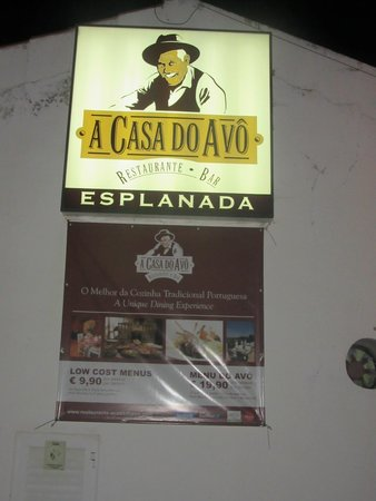 A Casa Do Avo : Menus económicos
