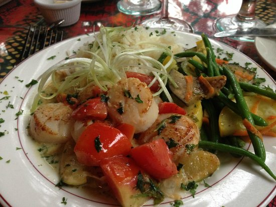 Back Porch: Chef's Special - Scallops in Lime
