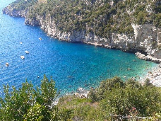 Massa Lubrense, Italien: la spiaggia