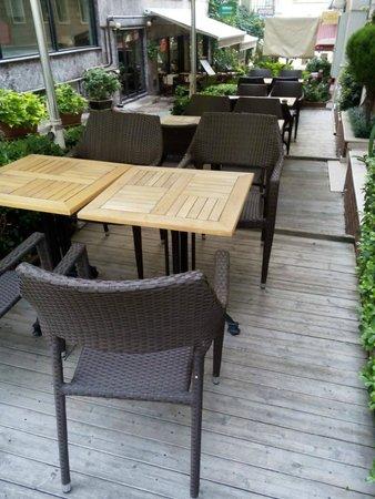 Sude Konak Hotel : Hotel Side Garden Area