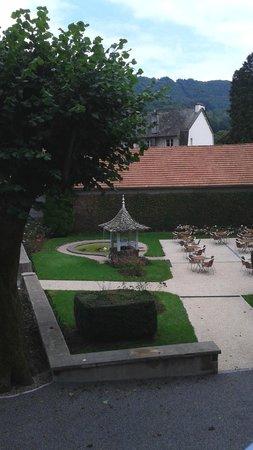 Hotel Beausejour: vue du balcon