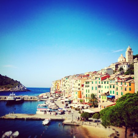 Grand Hotel Portovenere : Vista dalla nostra camera! 