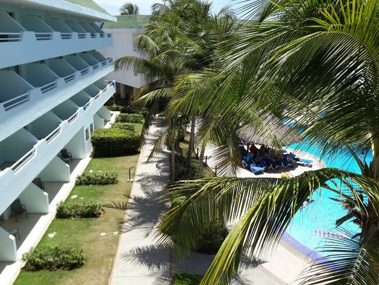 SUNSOL Isla Caribe: Edificio habitaciones area Real