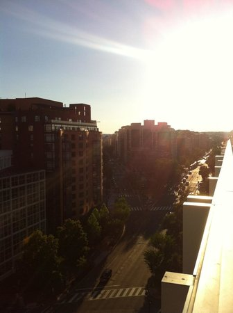 Marriott Marquis Washington, DC : View from Lounge Terrace