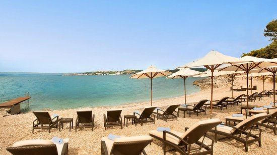 Kempinski Hotel Adriatic Istria Croatia Private Beach At The