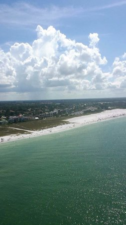 Parasail Siesta: This was my view! Absolutely breathtaking!  #parasailsiesta
