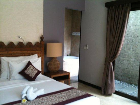 The Lokha Umalas Villas & Spa: Villa Bedroom