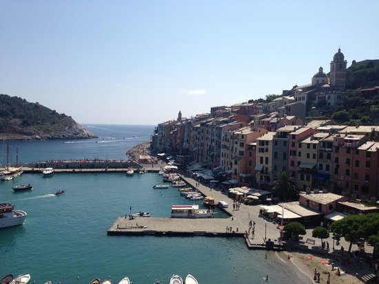 Grand Hotel Portovenere : View from the balcony