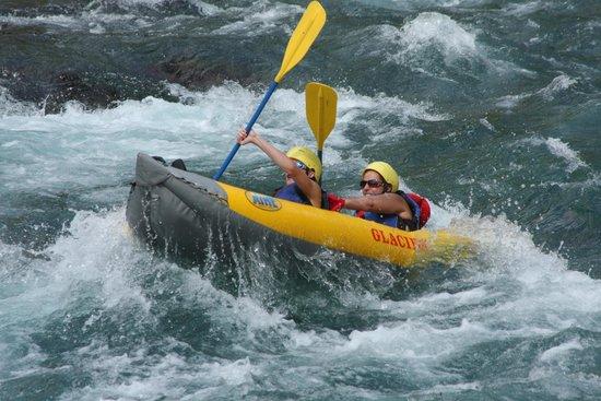 Glacier Raft Company: Entering Bone Crusher