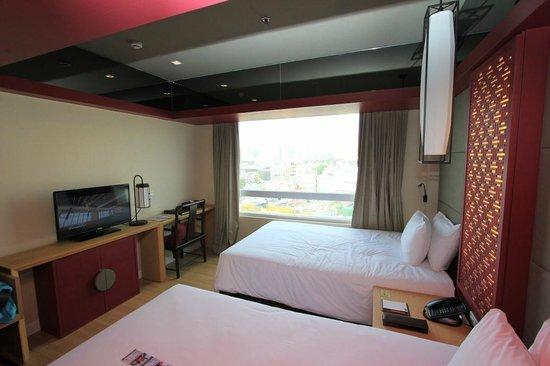 Prime Hotel Central Station Bangkok: Deluxe Doppelzimmer