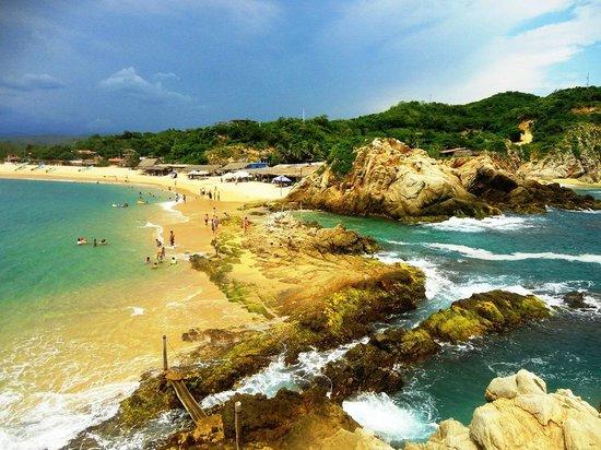 Michoacan, Mexico: playa El Faro de Bucerías