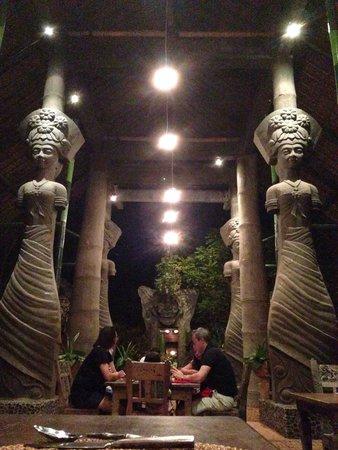 Hotel Tugu Lombok : Great dinner!