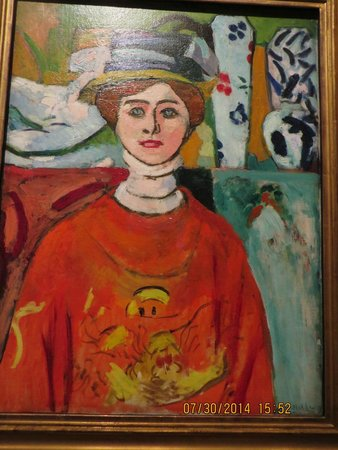 Lands End : Henri Matisse: La fille aux yeux verts. Legion of Honor Art Museum just off the Coastal Trail.