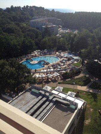 Valamar Diamant Hotel : Vista piscina