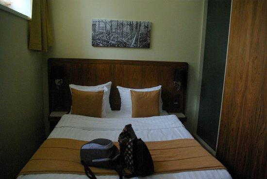 Hotel Katajanokka: la cama, muy cómoda