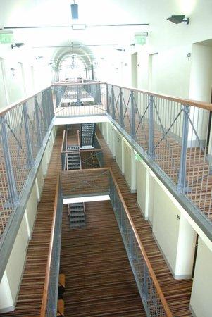Hotel Katajanokka: los pasillos de prisión