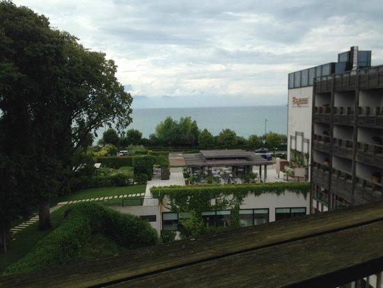 Hotel Acquaviva del Garda: Vista lago