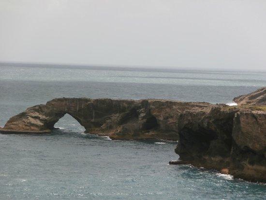 La Cueva del Indio : One of seven arches