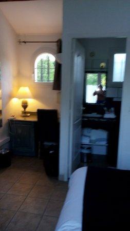 Hotel Dejeunez Sous L'Arbre : encore la chambre et salle d'eau
