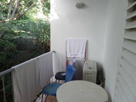 Hotel Lumbarda: Widok z pokoju